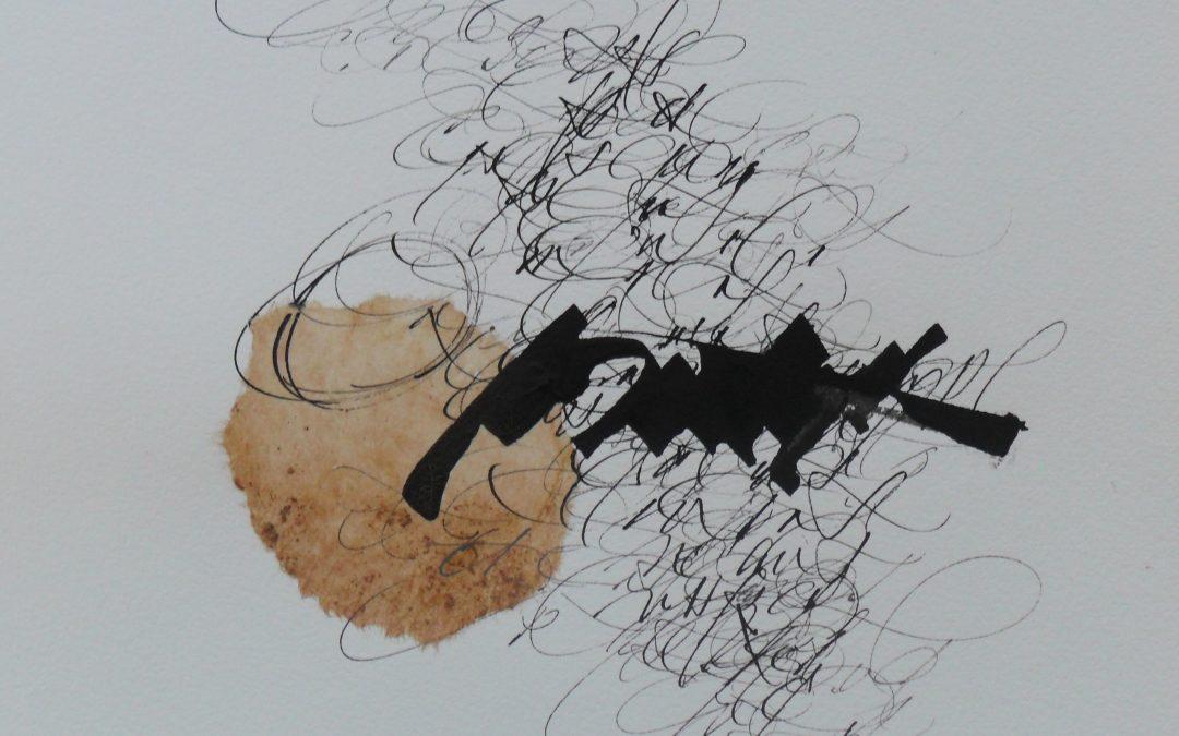 Calligraphie gestuelles et alphabets imaginaires
