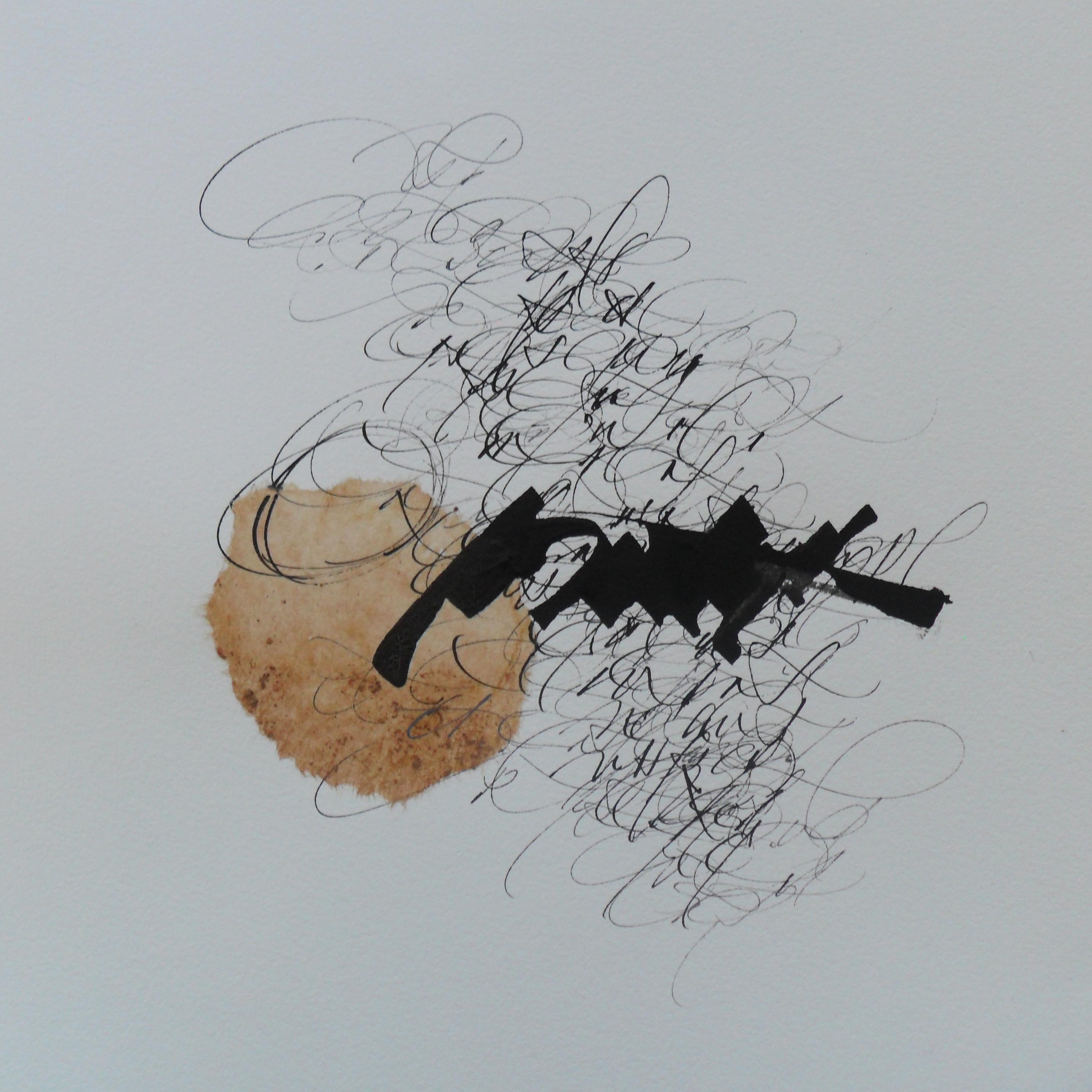 Calligraphie Anne Gros-Baltazard