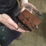 Initiation à la gravure : pointe sèche, manière noire et eau forte