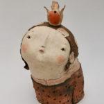 Sculpture figurative au colombin