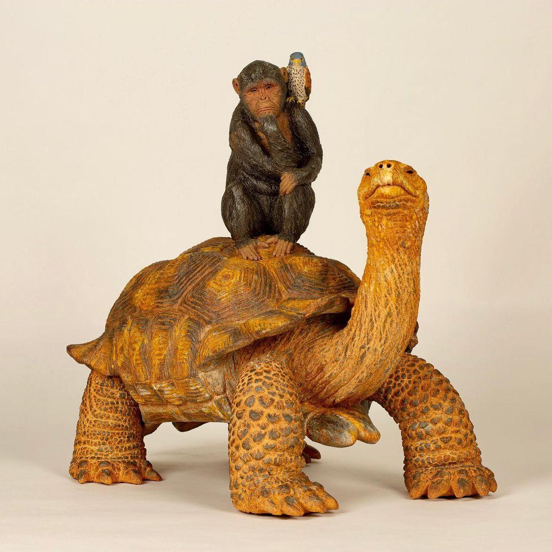 sculpture animalière : stage céramique