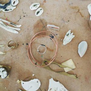 Bijoux céramique : sculpture métal et porcelaine perfectionnement